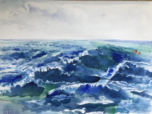 Wasserfarbe auf Papier 23x31 (2019)